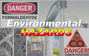 Environmental Hazards: Lead, Asbestos, Formaldehyde, Radon for Home Inspectors