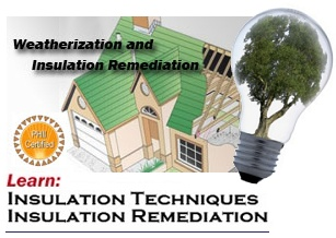 weatherization and insulation course